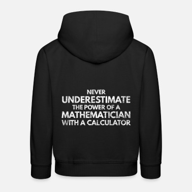 Géométrie Mathematician School Teacher Math Pi Gift 1 - Sweat à capuche premium Enfant