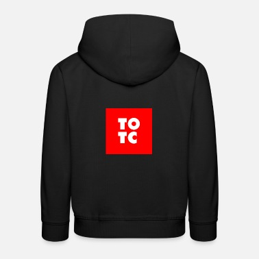 TOTC rouge - Sweat à capuche premium Enfant