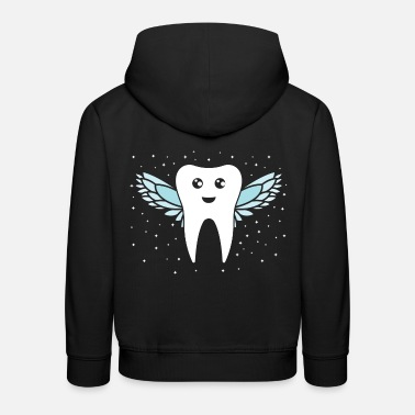 Tooth Tooth fairy tooth - Kids' Premium Hoodie
