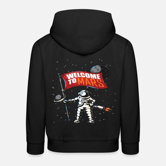 Mars Hoodies & Sweatshirts - Mars mission - Kids' Premium Hoodie black