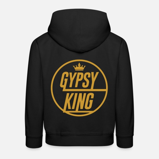 Gypsy Hoodies & Sweatshirts - Tyson Fury Shirt Gypsy King - Kids' Premium Hoodie black