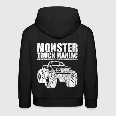 SUPERIORS ™ - MONSTER TRUCK MANIAC - Shirt - Kids' Premium Hoodie