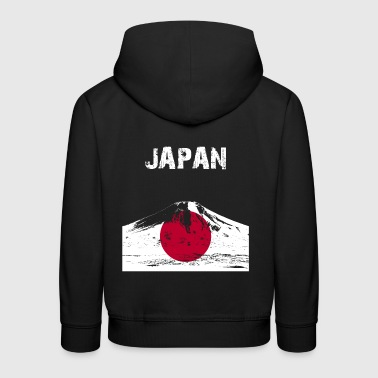 Nation-Design Japon Fuji FE 7 - Pull à capuche Premium Enfant