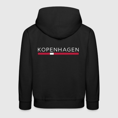 COPENHAGEN DESIGN - Danish capital gift - Kids' Premium Hoodie