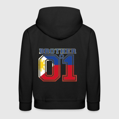 brother brother brother 01 partner Philippines - Kids' Premium Hoodie