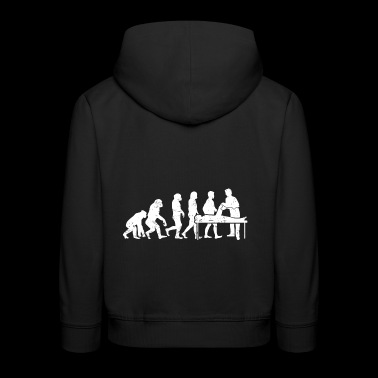 Physiotherapie evolution physio therapeut geschenk - Kinder Premium Hoodie