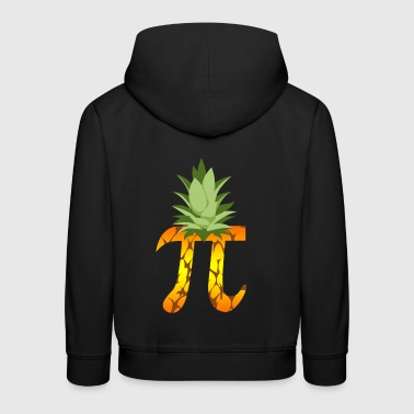 Pineapple Pi Science Geek Mathematics Symbol Humor - Kids' Premium Hoodie