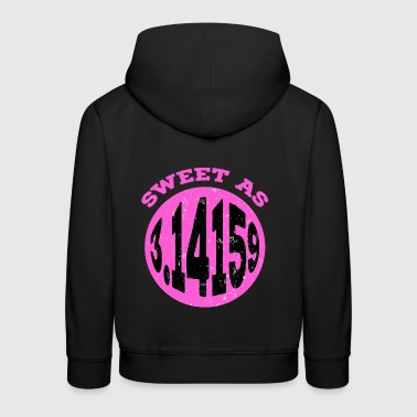 Sweet As 3.14159 Funny Algebraic Symbol Math Sign - Kids' Premium Hoodie