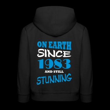 On earth since 1983 and still stunning - Kids' Premium Hoodie