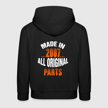 Made In 2007 Alle Originalteile - Kinder Premium Hoodie