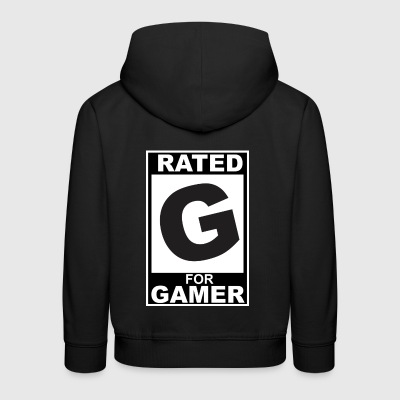 Rated G for Gamer - Kids' Premium Hoodie