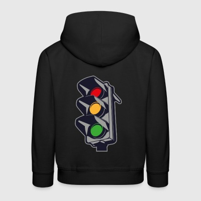2541614 135318330 Traffic light - Kids' Premium Hoodie