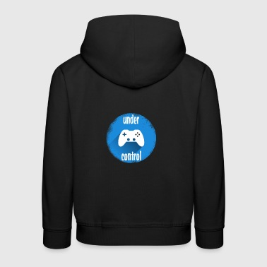 Controller  Game play pc computer - Kids' Premium Hoodie