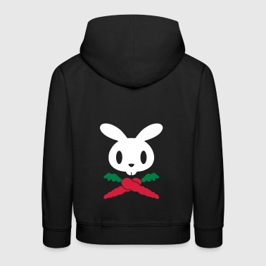 Rabbit pirate - Kids' Premium Hoodie