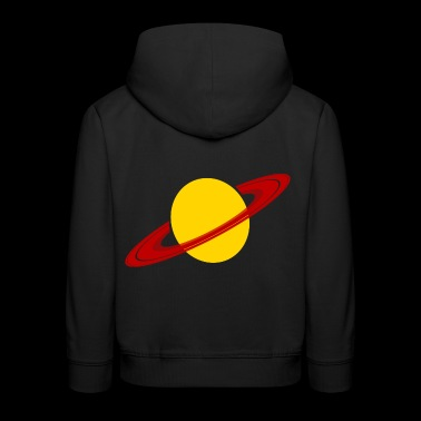 Saturn Planet Space Space Gift - Kids' Premium Hoodie