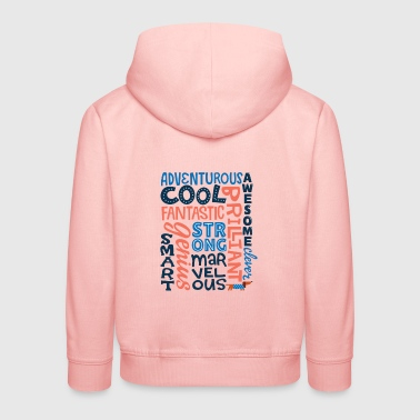 Encouraging Words - Kids' Premium Hoodie