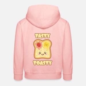 Süßes Toastbrot Mit Erdbeermarmelade Zum Frühstück Baby Langarmshirt