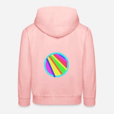 Abstract painting - Kids' Premium Hoodie