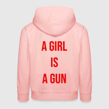 a girl is a gun - Kids' Premium Hoodie