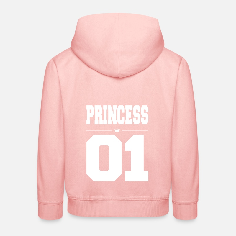 Daughter Hoodies & Sweatshirts - PRINCESS - Kids' Premium Hoodie crystal pink