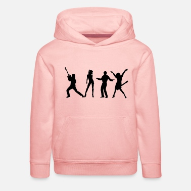 Band bandes - Sweat à capuche premium Enfant