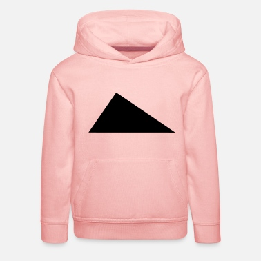 Triangle perpendicular / / Right angle / / - Kids' Premium Hoodie