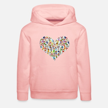 Feather Little angels heart - Kids' Premium Hoodie