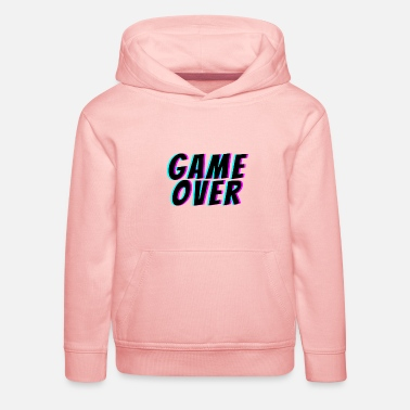 Game Over Game Over. t-shirt game over - Sweat à capuche premium Enfant