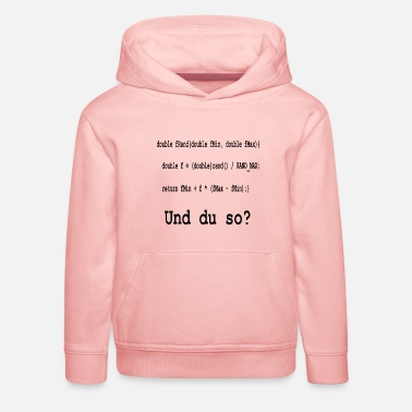 Program Programming / coding and you like that? - Kids' Premium Hoodie
