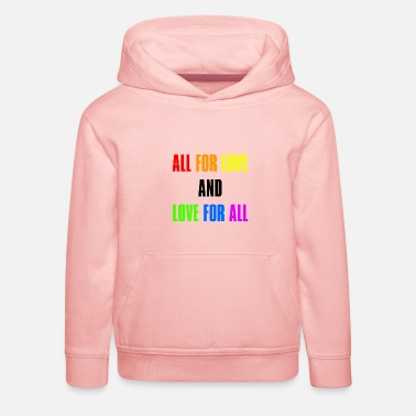 Gay Pride Rights Csd Pride Statement lgbt gift - Kids' Premium Hoodie