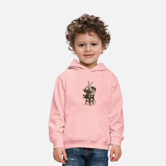 Aardvark Hoodies & Sweatshirts - A is for Aardvark - Kids' Premium Hoodie crystal pink