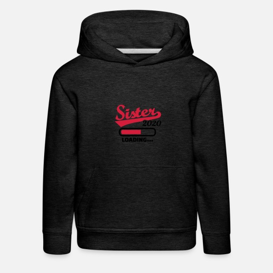 Offspring Hoodies & Sweatshirts - Sister 2020 - Kids' Premium Hoodie charcoal grey
