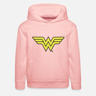 Schöne Justice League Wonder Woman Logo - Kinder Premium Hoodie