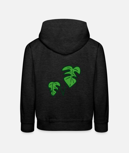 Rural Hoodies & Sweatshirts - plant - Kids' Premium Hoodie charcoal grey