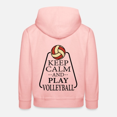 Return Volleyball volleyball player beach volleyball gift - Kids' Premium Hoodie