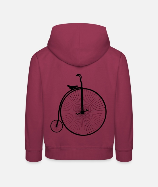 Road Bike Hoodies & Sweatshirts - Bicycle - Kids' Premium Hoodie bordeaux