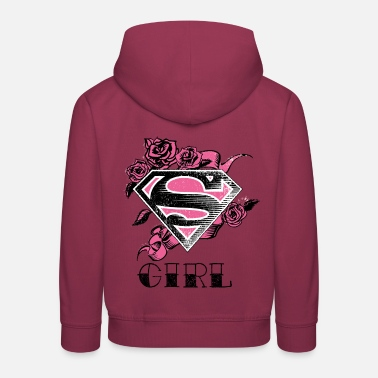 Superman S-Shield Girl 2 Frauen T-Shirt - Kinder Premium Hoodie