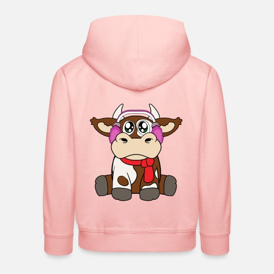 Winter Pullover & Hoodies - Winter - Kinder Premium Hoodie Kristallrosa