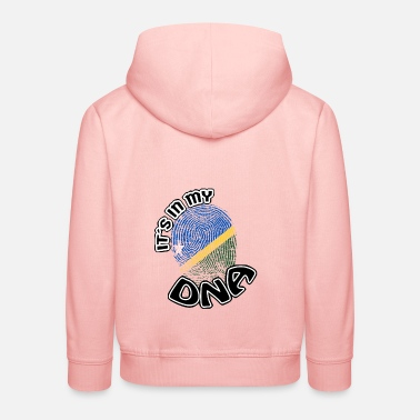 Gift Its in my dna dns roots Solomon Islands - Kids' Premium Hoodie