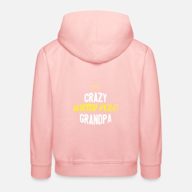 Crazy Distressed - CRAZY WATER POLO GRANDPA - Kids' Premium Hoodie