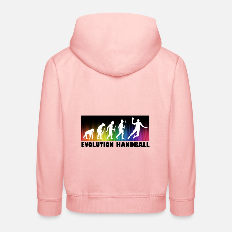 Handball Hoodies & Sweatshirts - Evolution Handball - Kids' Premium Hoodie crystal pink
