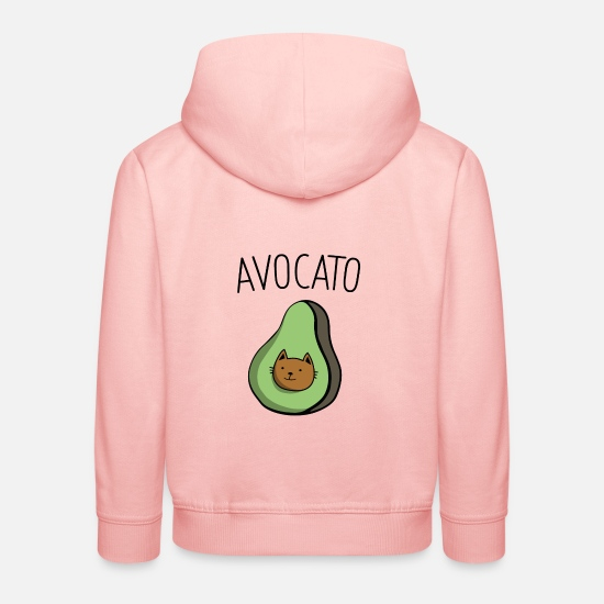 Gift Idea Hoodies & Sweatshirts - avocado - Kids' Premium Hoodie crystal pink
