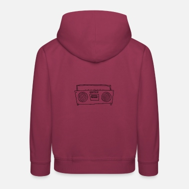 radio - Sweat à capuche premium Enfant