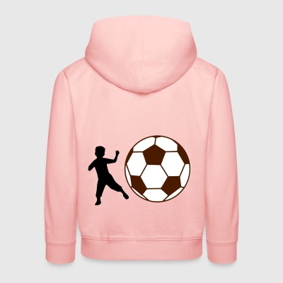 Kid Football - Kids' Premium Hoodie