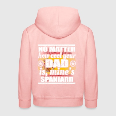 no matter cool dad vater gift Spanien png - Kinder Premium Hoodie