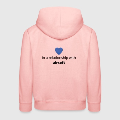 gift single taken relationship with airsoft - Kinder Premium Hoodie