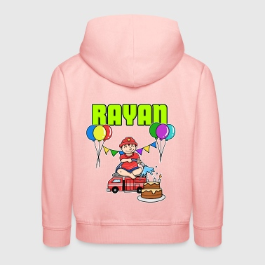 Fire Department Rayan Gift - Kids' Premium Hoodie