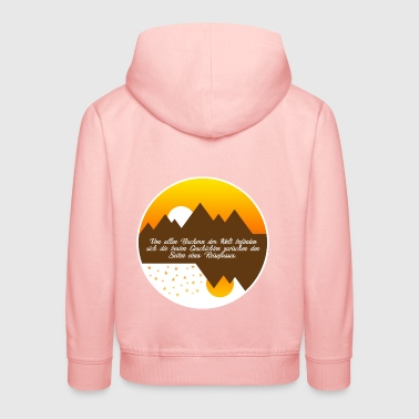 Of all the books in the world - Kids' Premium Hoodie