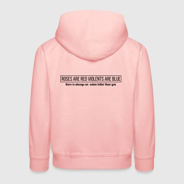 asian quote - Kids' Premium Hoodie