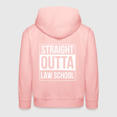 Straight Outta Law School - Law Students - Kids' Premium Hoodie
